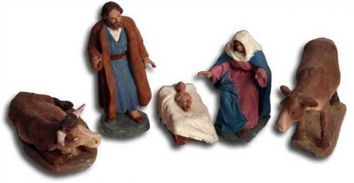 grupo nacimiento figuras pesebre