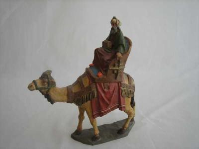 rey a camello melchor figura epsebre